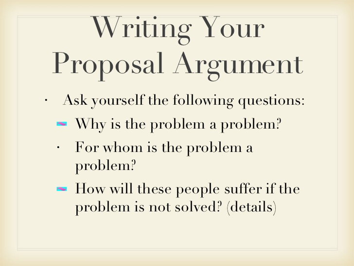 argumentative proposal essay What is an argumentative essay the argumentative essay is a genre of writing that requires the student to investigate a topic collect, generate, and evaluate.